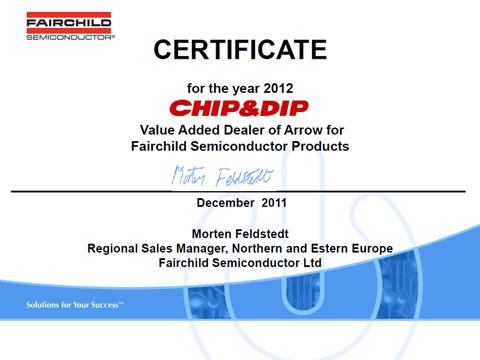 ЧИП и ДИП - официальный дилер Fairchild Semiconductor