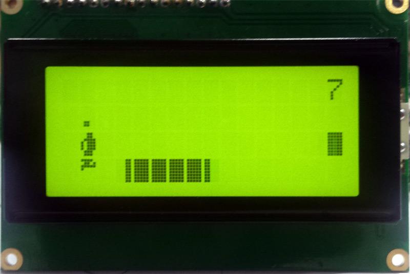 Игра бегущий человек на Arduino