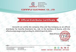 ЧИП и ДИП - официальный дистрибьютор CONNFLY