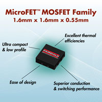 MicroFET™ MOSFET Family