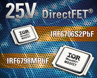IR DirectFET Chipset Delivers Industry Leading Efficiency for High Frequency DC-DC Switching Applications