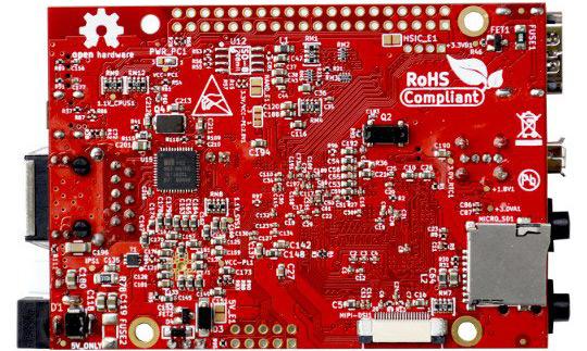 Одноплатный компьютер A64-OLinuXino-1Gs16M