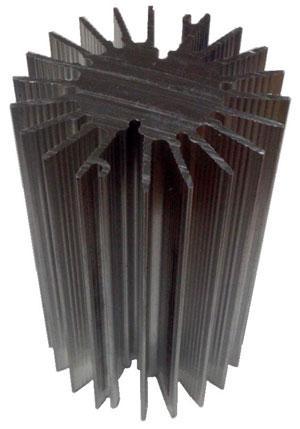 Радиатор для мощных светодиодов - серия AB0640