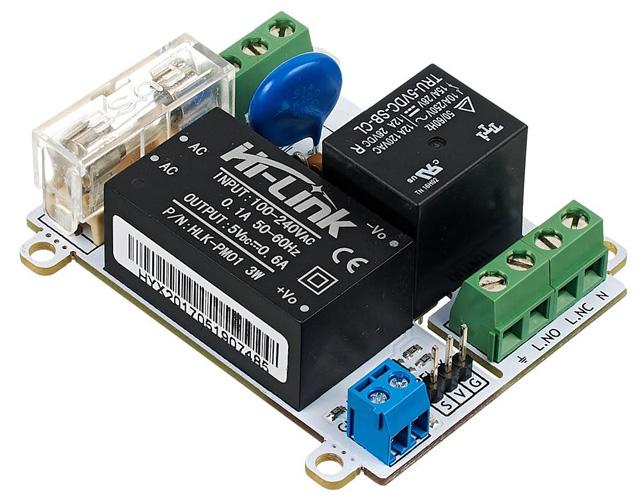 Zelo-AC/DC преобразователь с реле для Arduino проектов