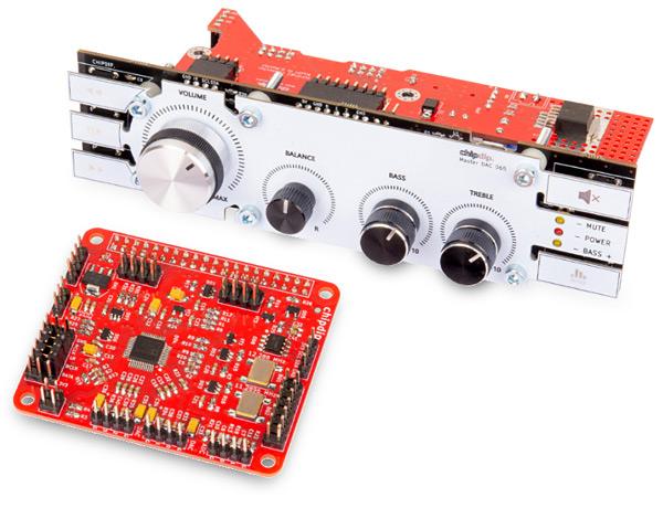 DSP Machine 1 - проекты на ADAU1701 для микрокомпьютера Raspberry Pi