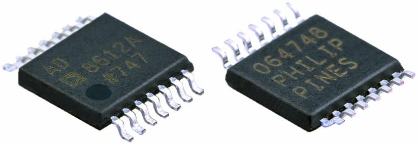 AD8612ARUZ - компаратор с крайне высоким быстродействием отAnalogDevices