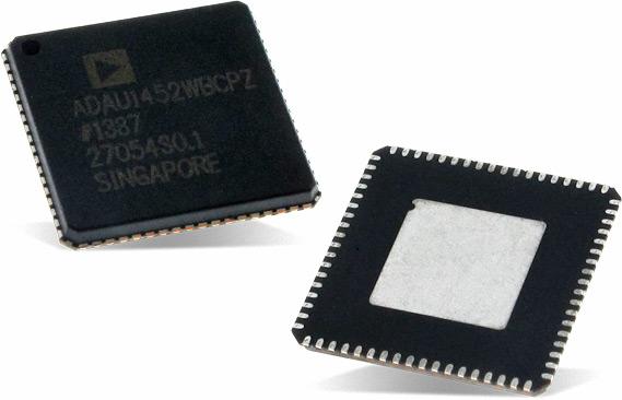 ADAU1452 – цифровой аудиопроцессор SigmaDSP от Analog Devices
