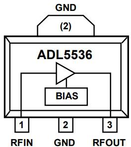 Функциональная схема ADL5536ARKZ