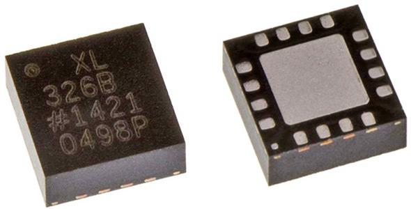 ADXL326 – малопотребляющий 3-осевой акселерометр ±16 g от Analog Devices