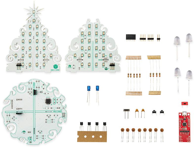 Новогодняя Arduino Ёлка. Программируемый конструктор. Новинки собственного производства