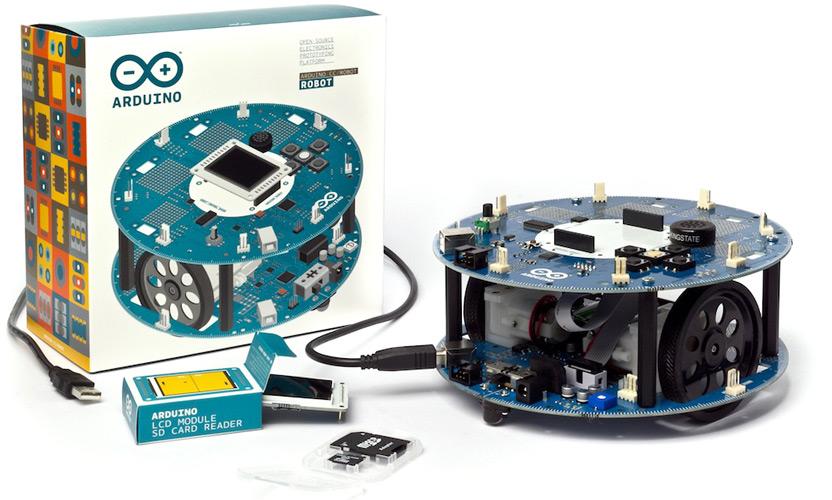 Arduino Robot - мобильный робот на основе Arduino Leonardo