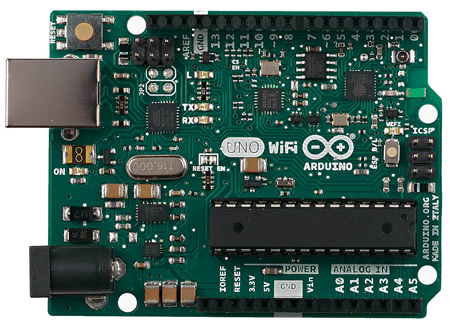 Arduino Uno WiFi - программируемый контроллер на базе ATmega328 и ESP8266 с поддержкой Wi-Fi