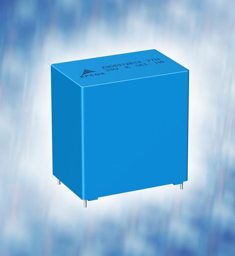 Надежные конденсаторы постоянного тока B32774…B32778 от TDK