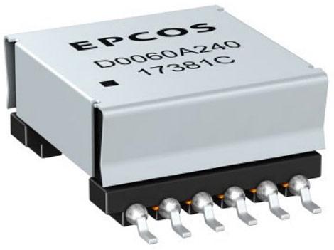 Серия импульсных PoE-трансформаторов B82806D от корпорации TDK