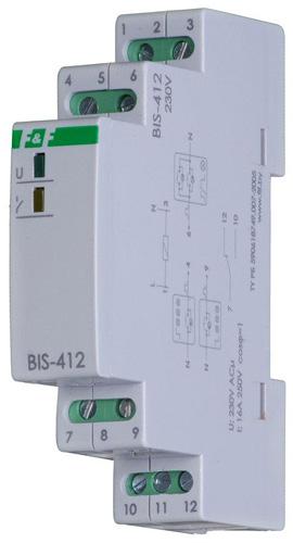 Импульсное реле для группового режима работы BIS-412