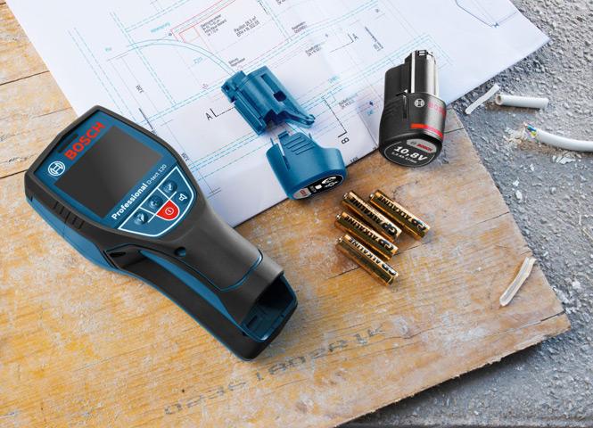 Bosch D-tect 120 - универсальный детектор для определения любых материалов