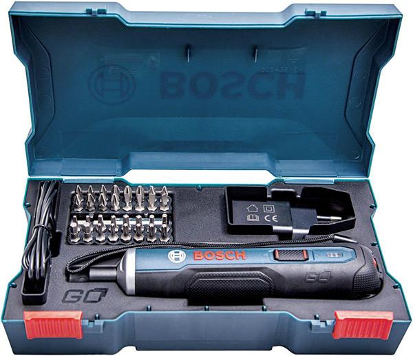 Аккумуляторная отвертка Bosch GO – нажми и работай