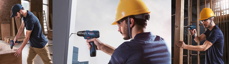 Мощный аккумуляторный шуруповерт с функциями дрели Bosch GSR 120-LI