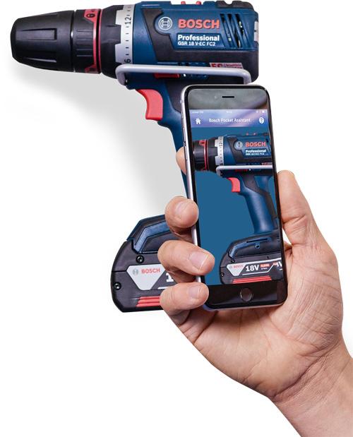 Новое приложение Bosch Pocket Assistant