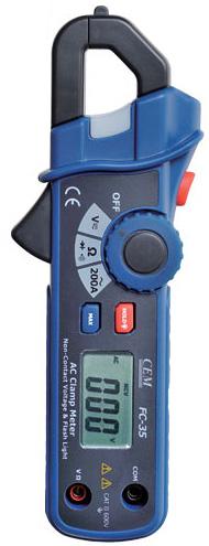 Миниатюрные клещи для измерения переменного тока CEM FC-35