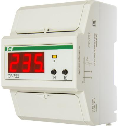 Реле напряжения для однофазной цепи CP-722