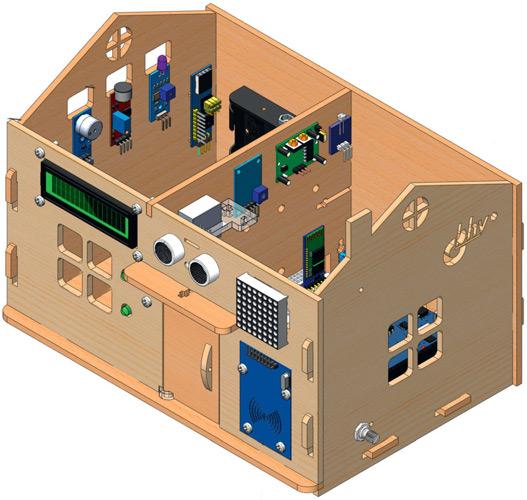 Новый образовательный набор из серии Дерзай! - Умный дом на базе Arduino