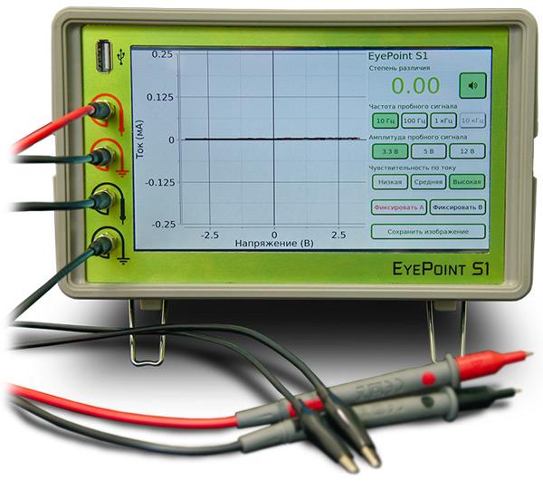 Настольный прибор для поиска неисправных электронных компонентов на печатных платах