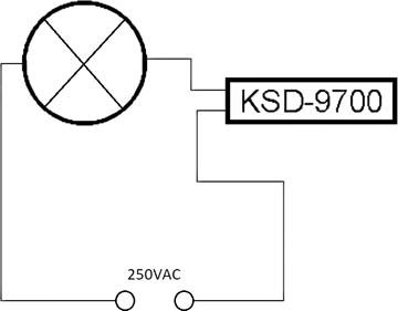 Простейший тепловой стерилизатор. Схема подключения