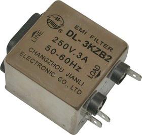 Сетевой фильтр DL-3KZB2, 3А, 250В