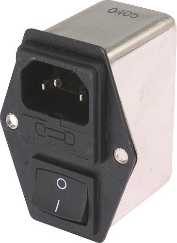 Однофазный сетевой фильтр переменного тока DL-6DZ2KR