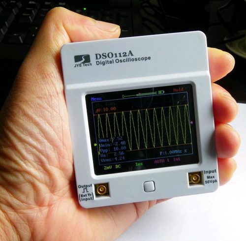 Портативный карманный осциллограф DSO Coral (DSO112A)