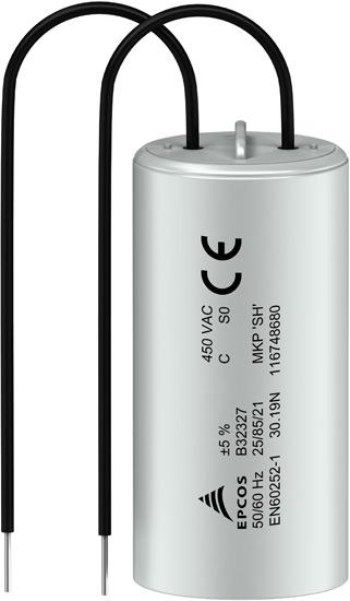 Пусковые конденсаторы серии B32327 марки Epcos