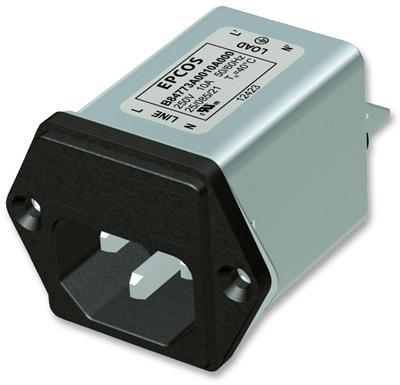 Сетевые фильтры подавления помех серии B84773 марки EPCOS