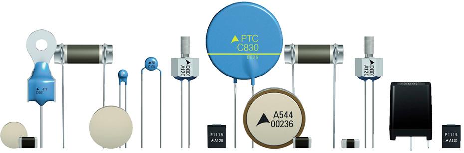PTC-термисторы от Epcos