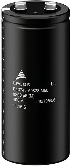 Алюминиевые электролитические конденсаторы Screw Terminal марки EPCOS