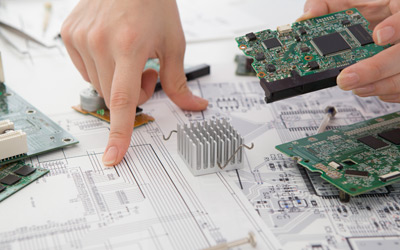 В европейской дистрибьюции электронных компонентов наблюдается спад