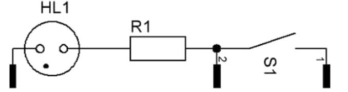 Коммутационная схема переключателя