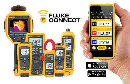 Fluke Connect - бесплатное приложение в App Store и Google Play