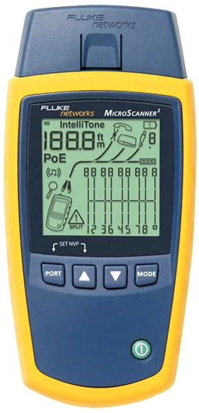 Кабельный тестер Fluke MS2-TTK MicroScanner2