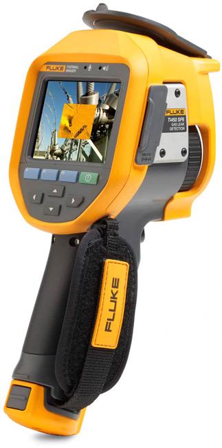 Тепловизор Fluke Ti450 с системой фокусировки MultiSharp™ и функцией обнаружения утечек газа SF6