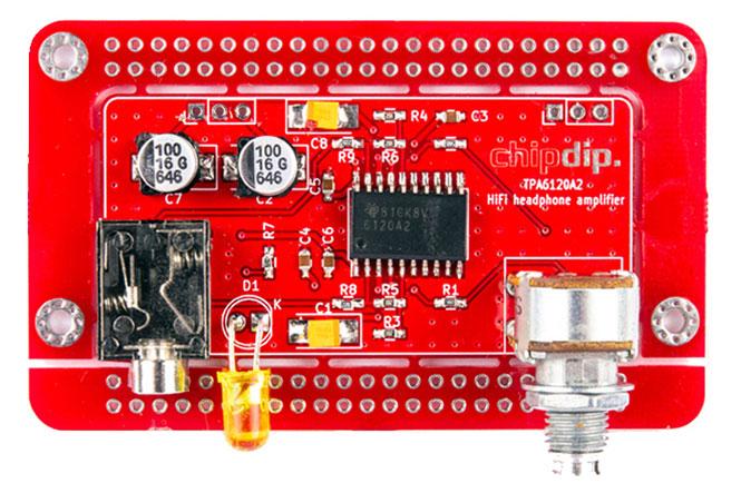 Hi-Fi усилители для наушников TPA6120A2