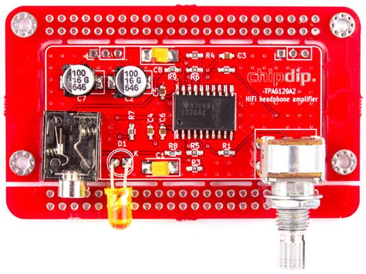 HiFi усилитель для наушников TPA6120A2. Новинки собственного производства