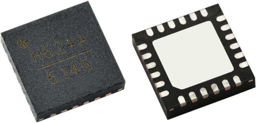 HMC624ALP4E аттенюаторы с цифровым управлением от Analog Devices