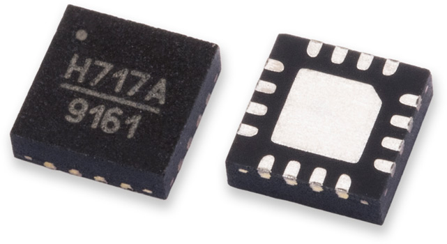 HMC717ALP3E – малошумящий СВЧ усилитель 4.8…6ГГц от Analog Devices