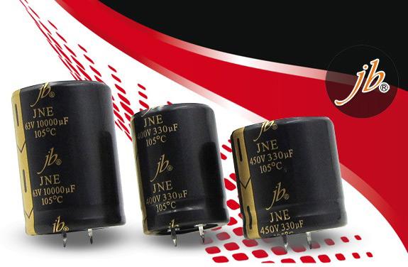 Электролитические конденсаторы серииJNE отJBCapacitors