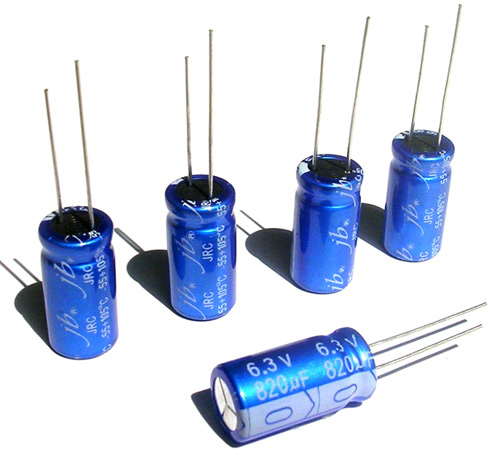 Конденсаторы Low Impedance серии JRC от JBCapacitors