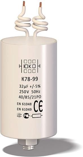Компенсирующие конденсаторы К78-99 для светотехники