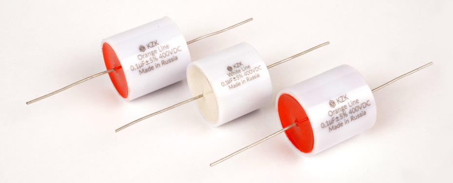 Аудиоконденсаторы К78-34 от российского производителя KZK