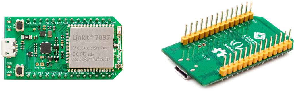 LinkIt 7697 - платформа на базе SoC MediaTek MT7697 для IoT приложений