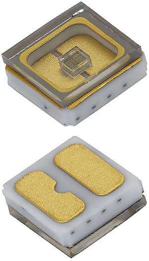 УФ светодиод средней мощности со сверхбольшим сроком службы